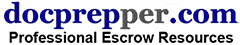 Professional Escrow Resources Logo